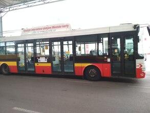 Střešní panel trolejbusu 363x46 cm